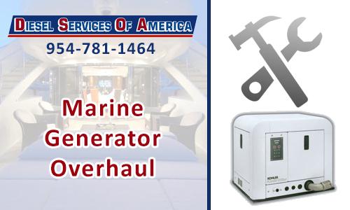 Marine Generator Overhaul