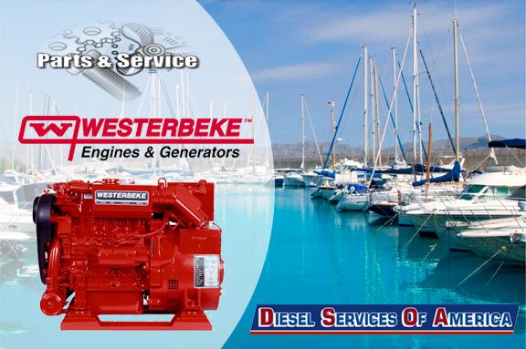 Westerbeke Marine Diesel Generator