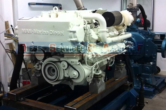 Marine Engine Repair
