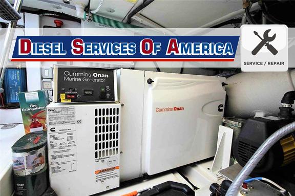 Onan Diesel Generator Repair