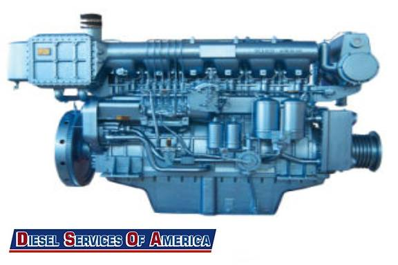 Marine Diesel Repair Shop